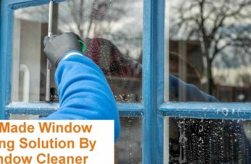 HOME MADE WINDOW CLEANER BY WINDOW CLEANING PERTH