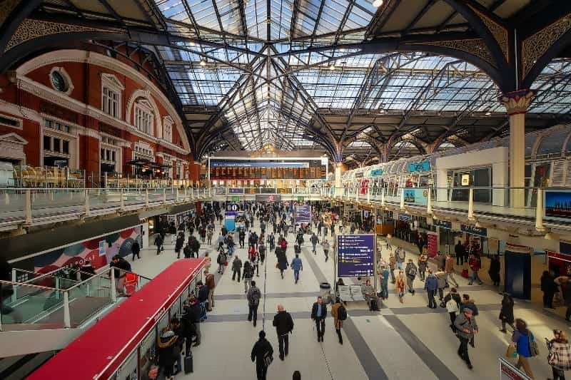 Liverpool Street Station - | London Local Businesses | London UK Business Directory